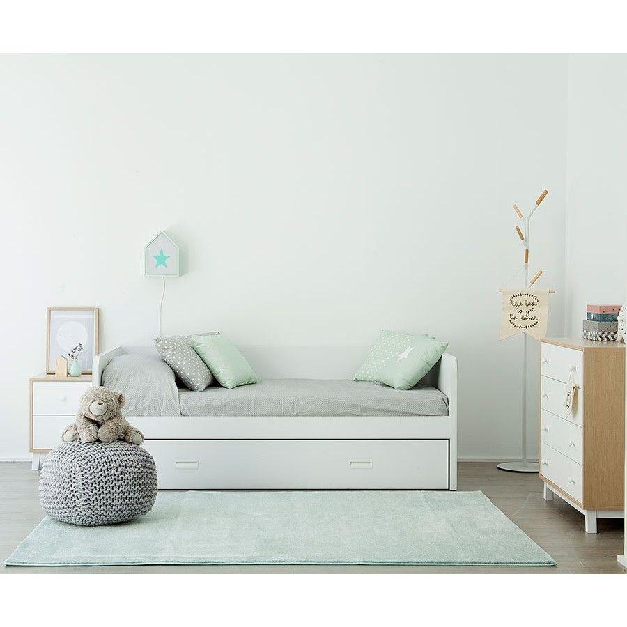 Cama c ruedas camas nido literas infantil juvenil - Habitacion infantil cama nido ...
