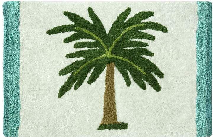 Bacova Palm Tree Bath Rug Tree Designs Bath Rugs Rugs