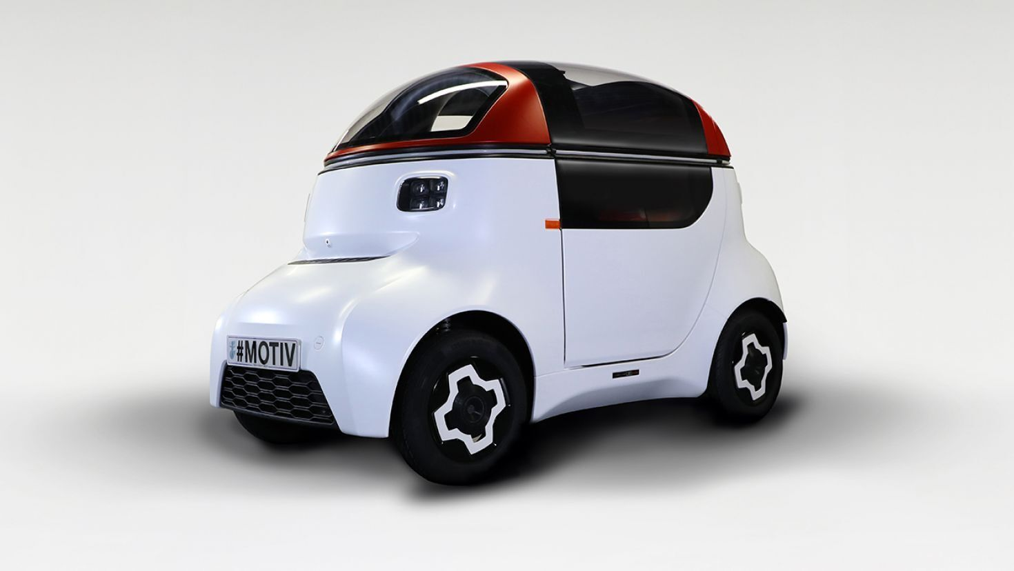 #CAsOnOffRoad | MOTIV single-seat autonomous 'car' is the ultimate in personal transporation