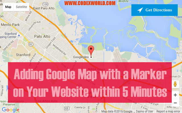 Adding Google Map on Your Website within 5 Minutes