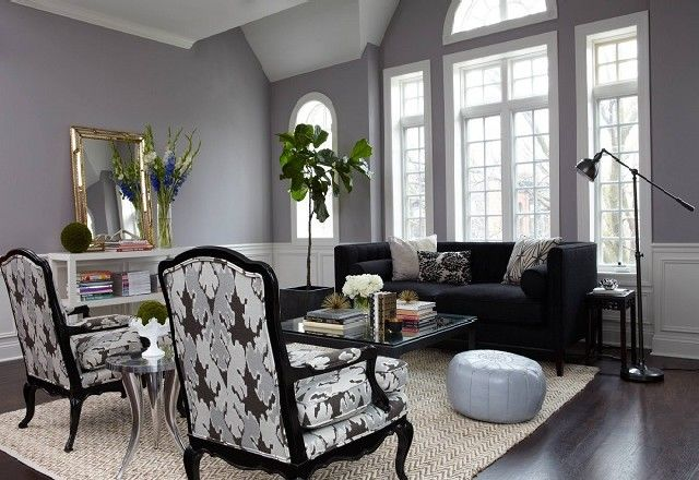50 Shades Of Grey Inspired Home Design Ideas Living Room