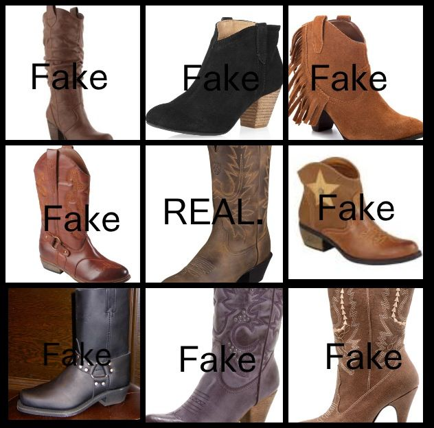 If you don't even know where to find REAL Cowgirl Boots, you aren ...
