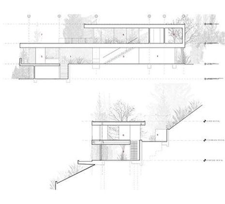 Modern Hillside House Plans Modern Lakefront House Plans ~ Home ...