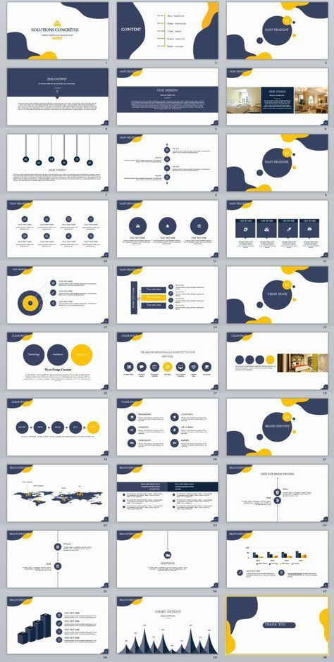 30+ Simple multipurpose PowerPoint templates
