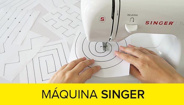 Cursos Para Aprender A Coser Máquina Singer 2019 Aprender A Coser Curso Maquina De Coser Como Bordar A Maquina