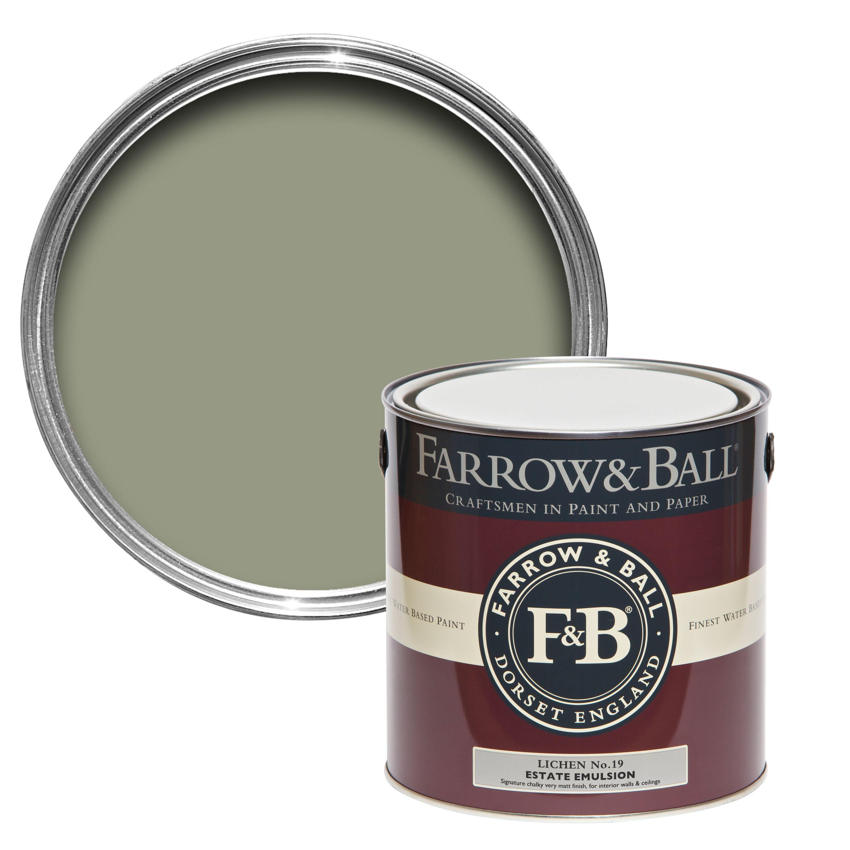 Best Farrow Ball Lichen No 19 Matt Estate Emulsion Paint 2 5L 400 x 300