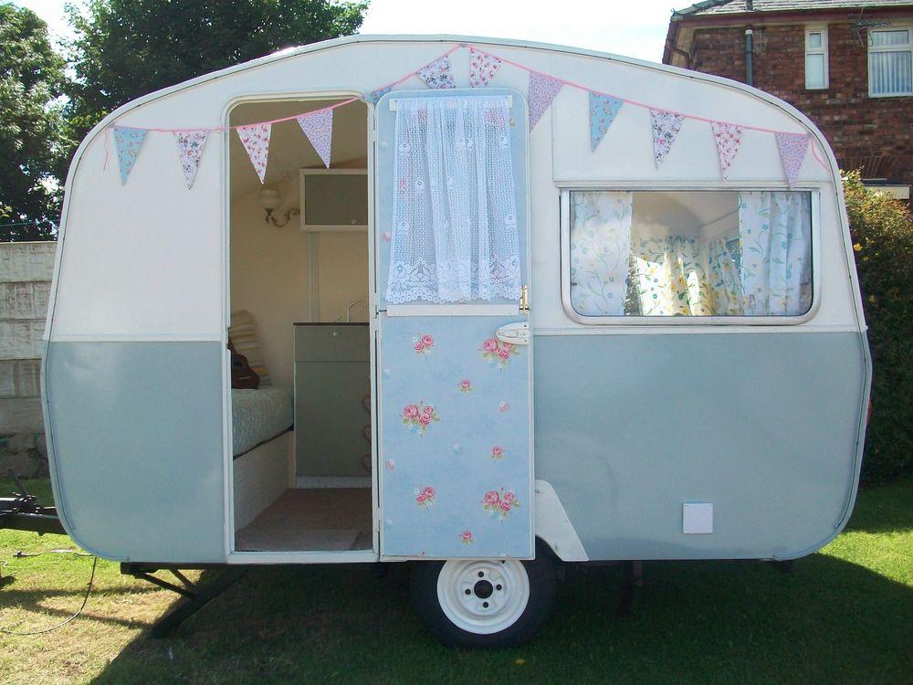 beautiful vintage retro classic sprite 400 caravan caravane roulotte et caravanes vintage. Black Bedroom Furniture Sets. Home Design Ideas