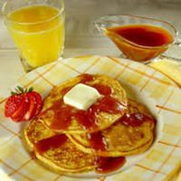 Pumpkin Maple Sauce - Wake up to spicy pumpkin pancakes hot from the griddle! Serve with Pumpkin Maple Sauce for a winter treat.