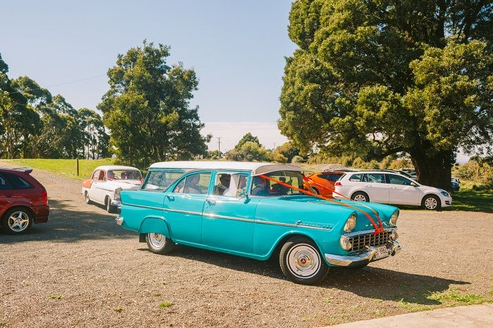 Mexican Inspired Wedding Car Decoration + 1950s themed wedding | I take you #wedding