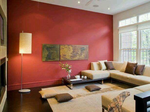 cmo decorar tu sala de color rojo by artesydisenosblogspotcom - Como Decorar Una Sala