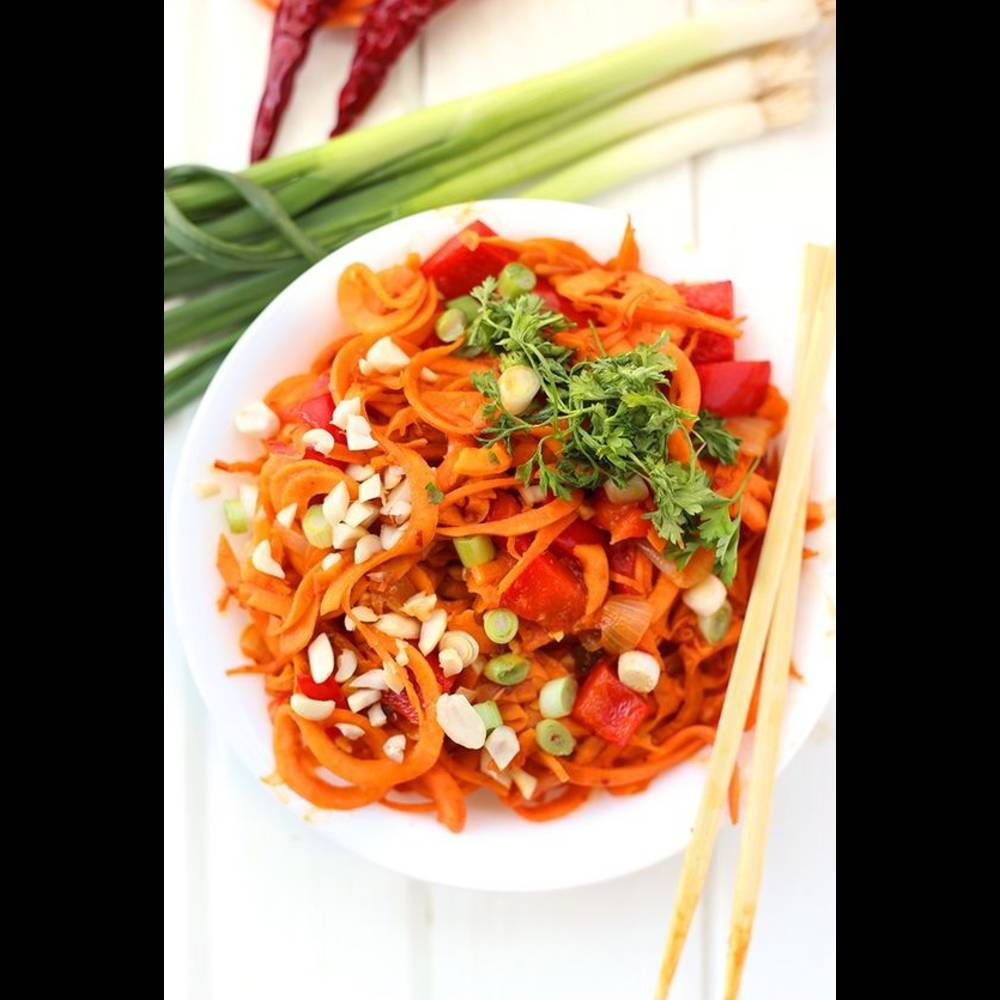 Pad thaï patate douce