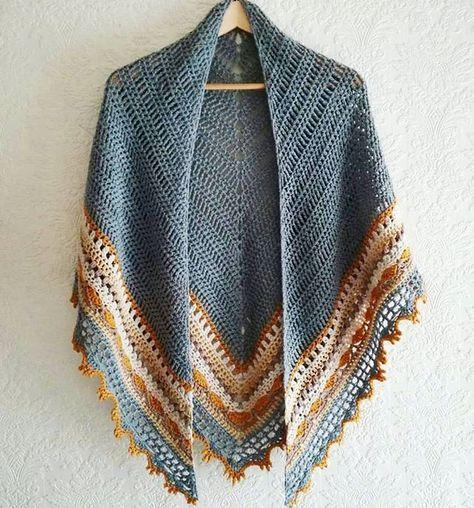 Crochet Sunday Shawl by The Little Bee | Hekl | Pinterest | Tücher ...