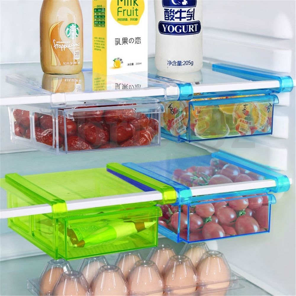 Honana Plastic Kitchen Refrigerator Fridge Storage Rack Freezer ...