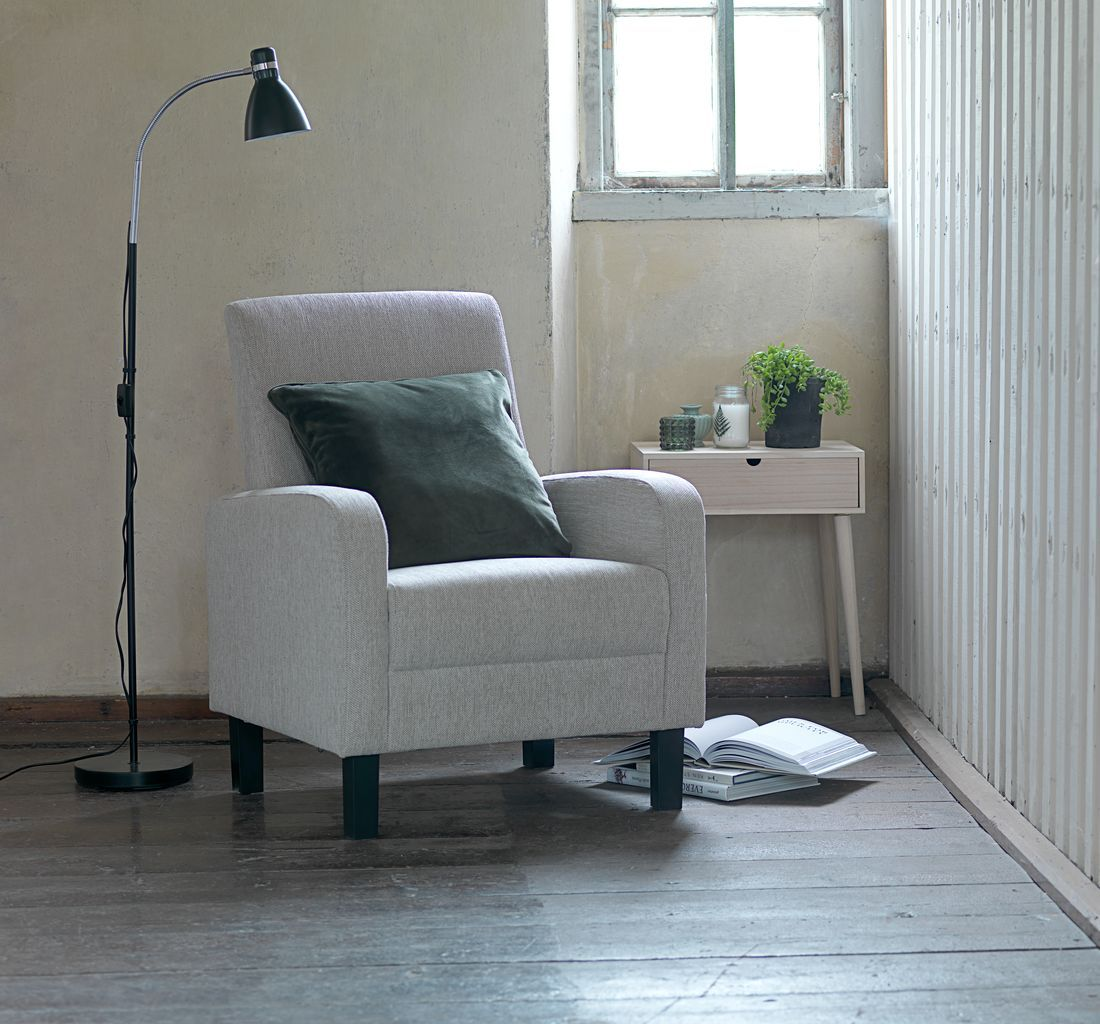 Light Grey Armchairs From Jysk Modern Living Room Design Tips And