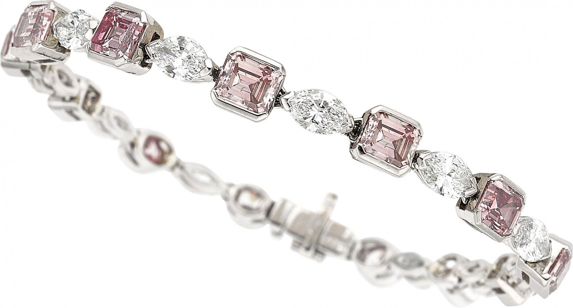 jivaana diamond jewels shefali bracelet product at tennis buy pink