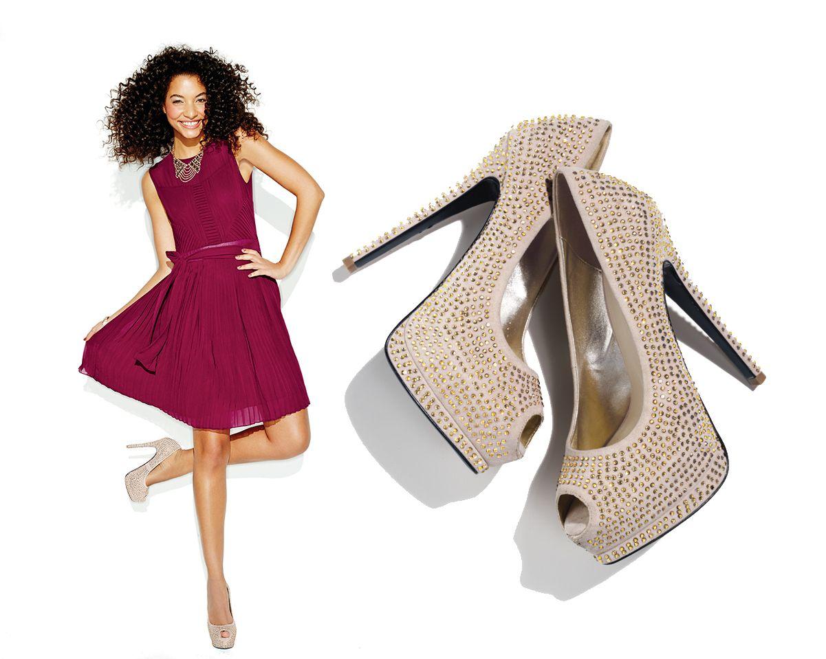 Baila toda la noche con estos c modos zapatos altos con for Sofas altos y comodos