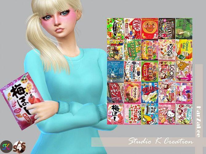 SKC Handle Snacks Pack at Studio K-Creation • Sims 4 Updates