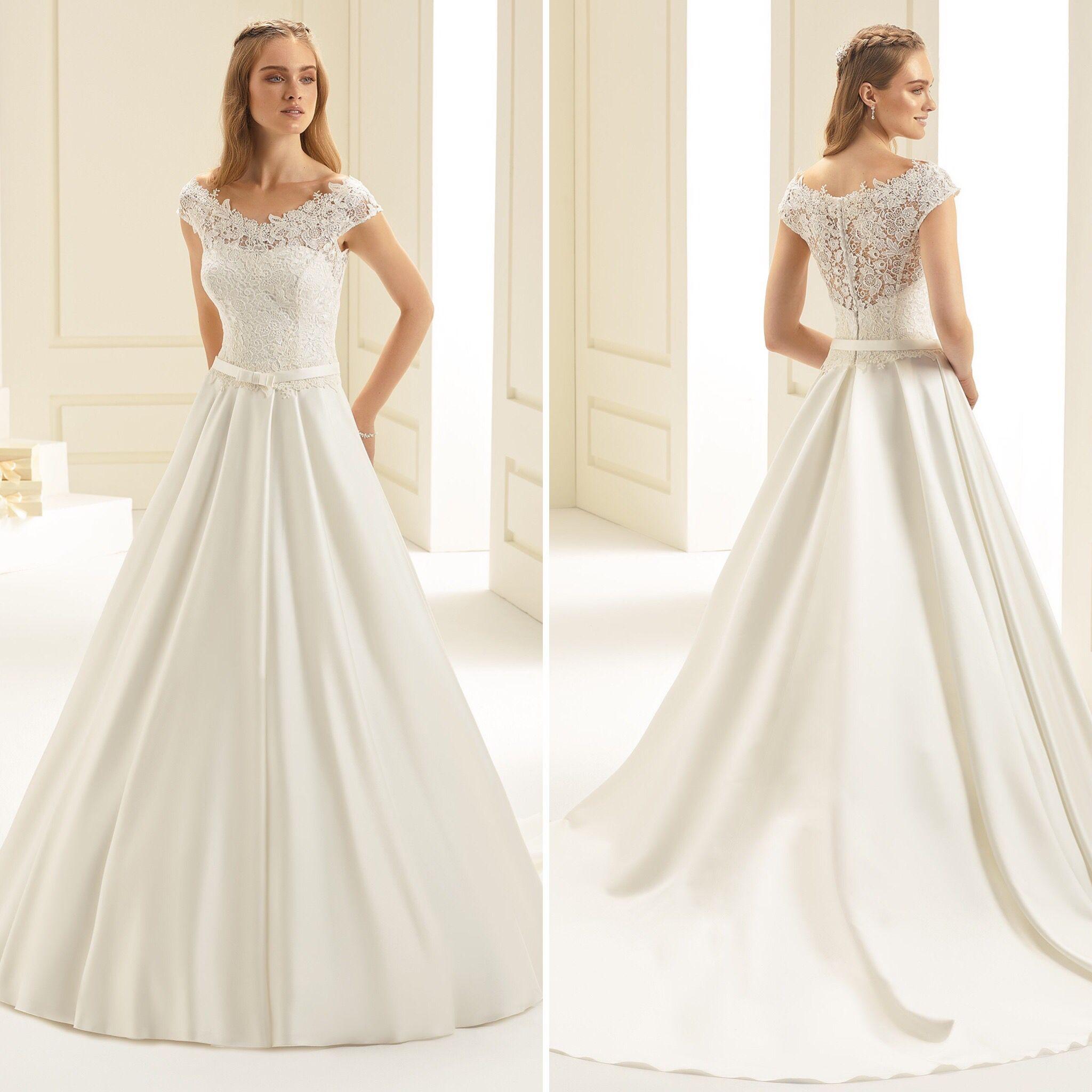Brautkleid Amelia  BELLA SPOSA  Kleider hochzeit, Kleid hochzeit