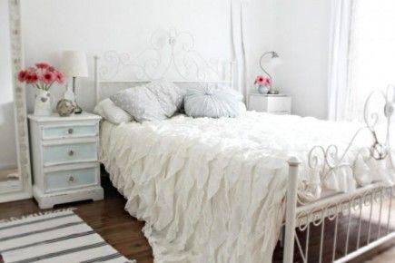 Chambre à coucher : féminine & romantique | Romantique, Féminin et ...