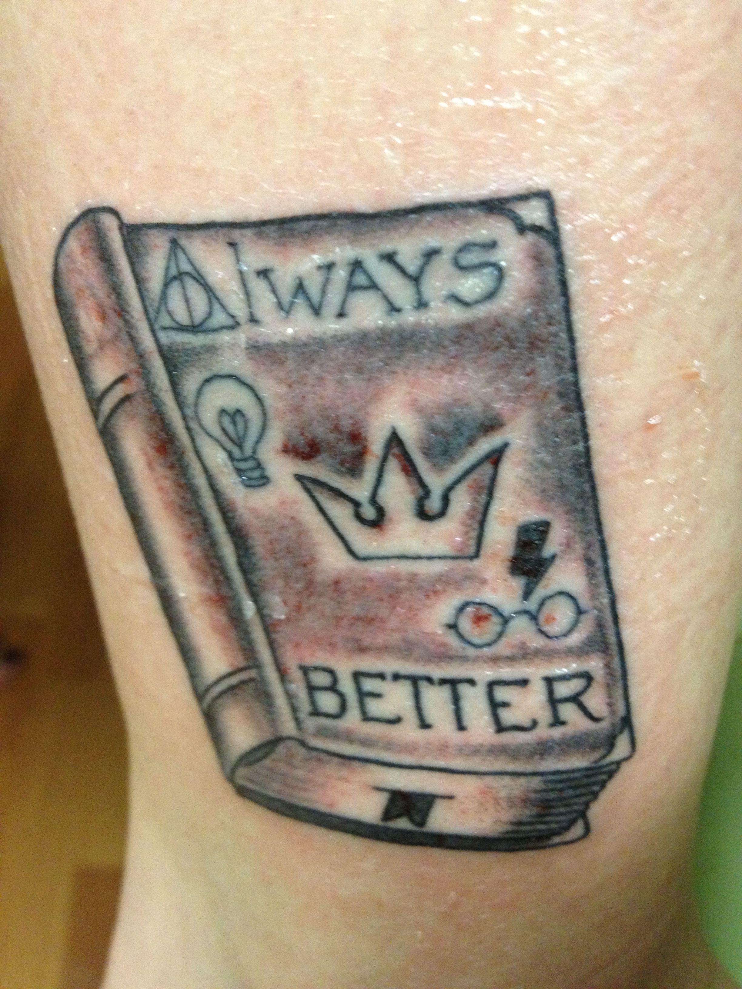 Harry potter tattoo meaningdescription behind my tat deathly harry potter tattoo meaningdescription behind my tat deathly hallows always weasley biocorpaavc Gallery