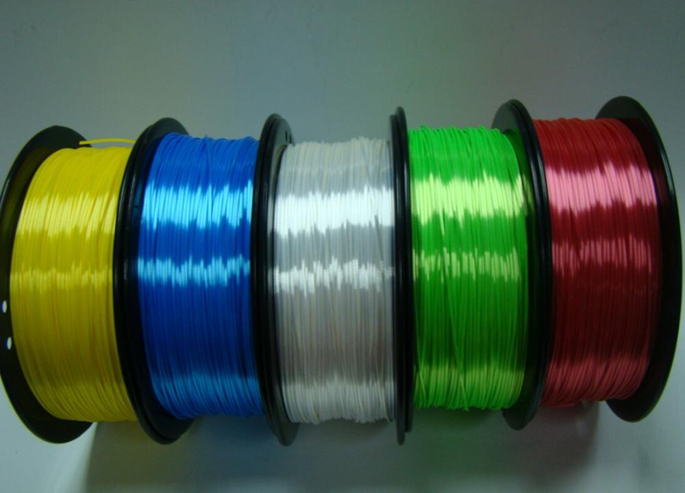 38.90$  Watch more here  - Plastic Consumables polymer composites Imitation silk 1.75/3MM multi Color For 3d printer filament MakerBot RepRap UP Mendel