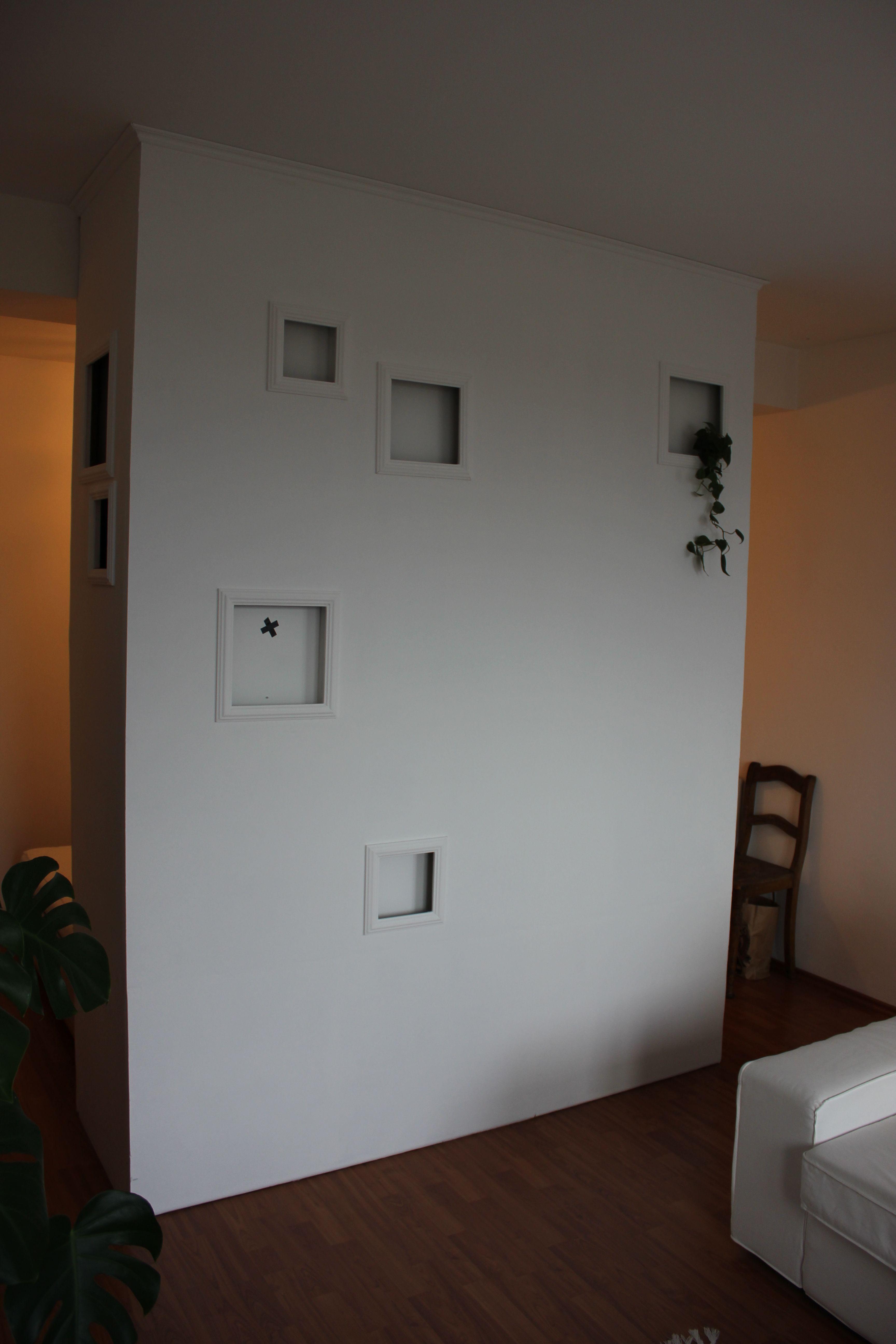 Room Divider Via Drywall Construction Raumtrenner Trockenbau Raum