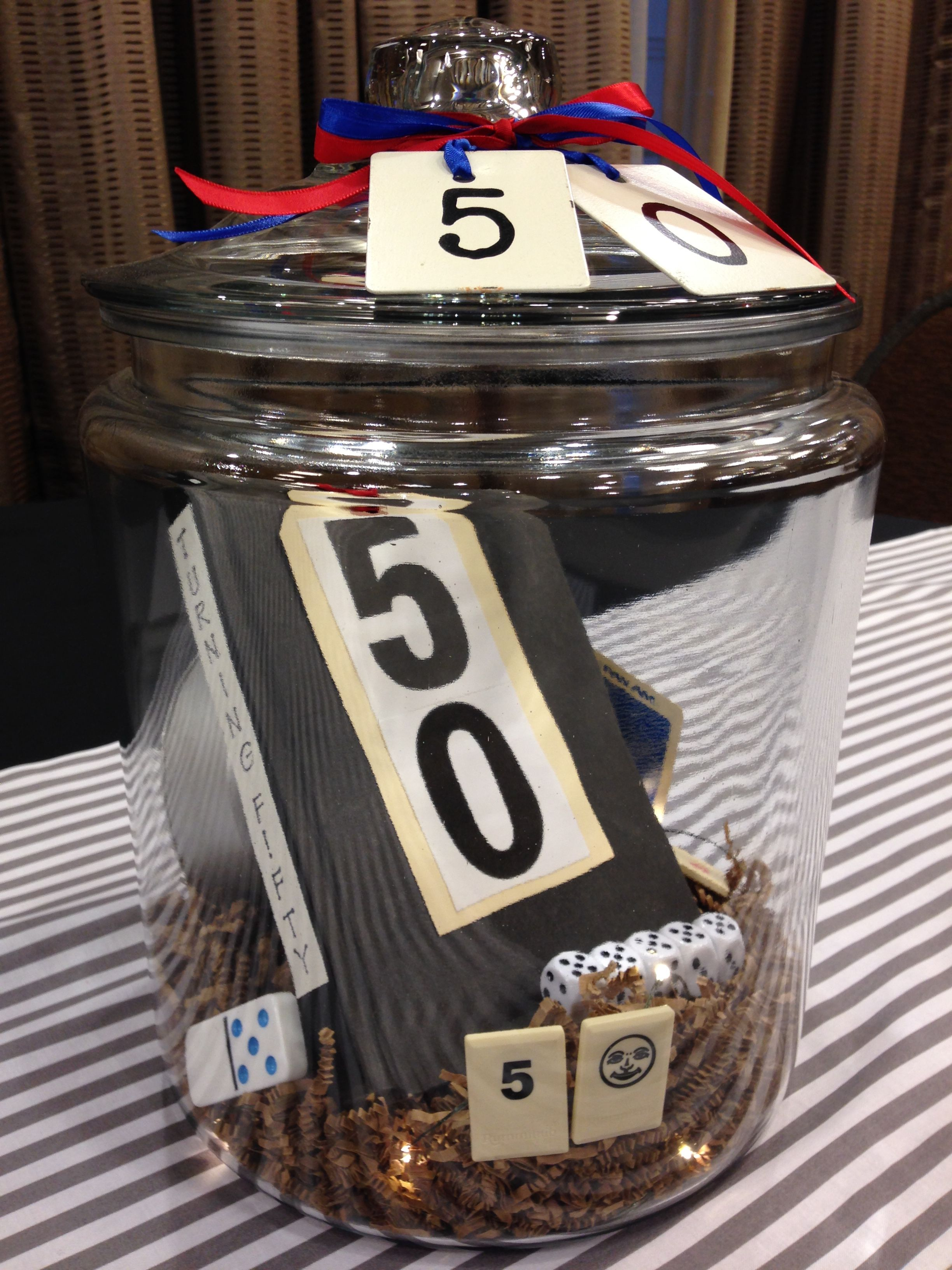 50th birthday party centerpiece for a man 50th birthday