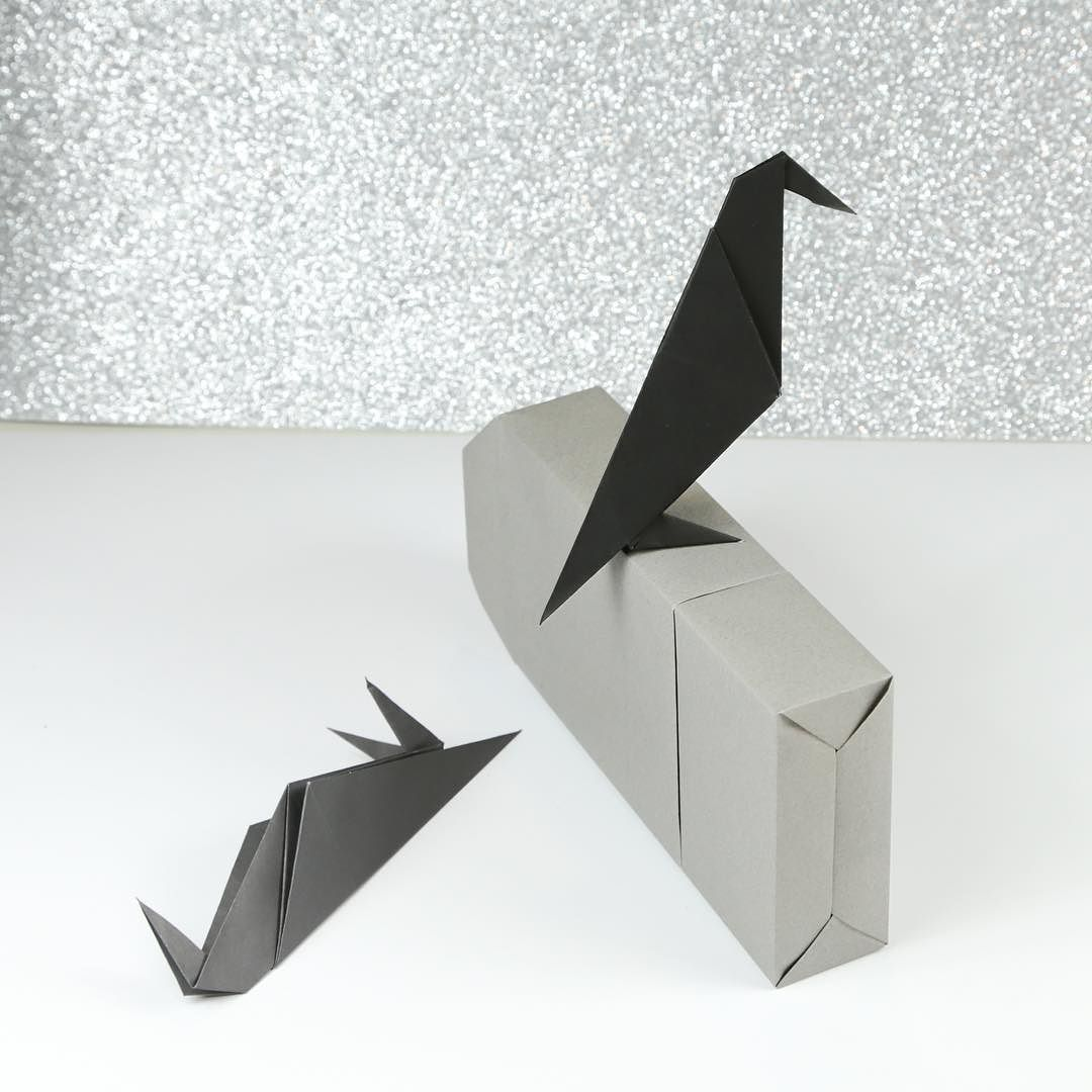 Easy origami crow tutorial video origami halloween origami and when youve had enough halloween origami for one day origami jeuxipadfo Gallery
