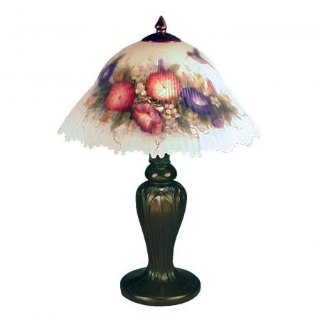 Table Lamp From The Glynda Turley Collection In The Hand Painted S