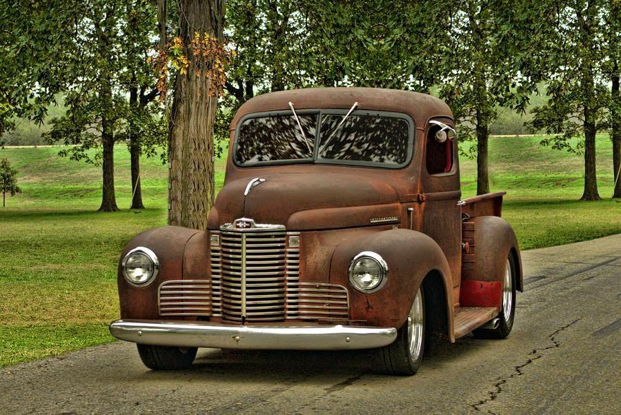 1947 International - Old Southern Souls | I love old trucks, I ...