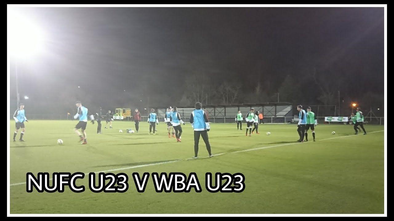 Newcastle United U23 v West Brom U23   Match vlog ...