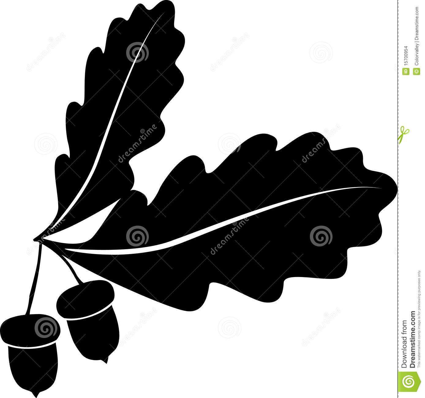 27++ Oak tree leaves clipart information