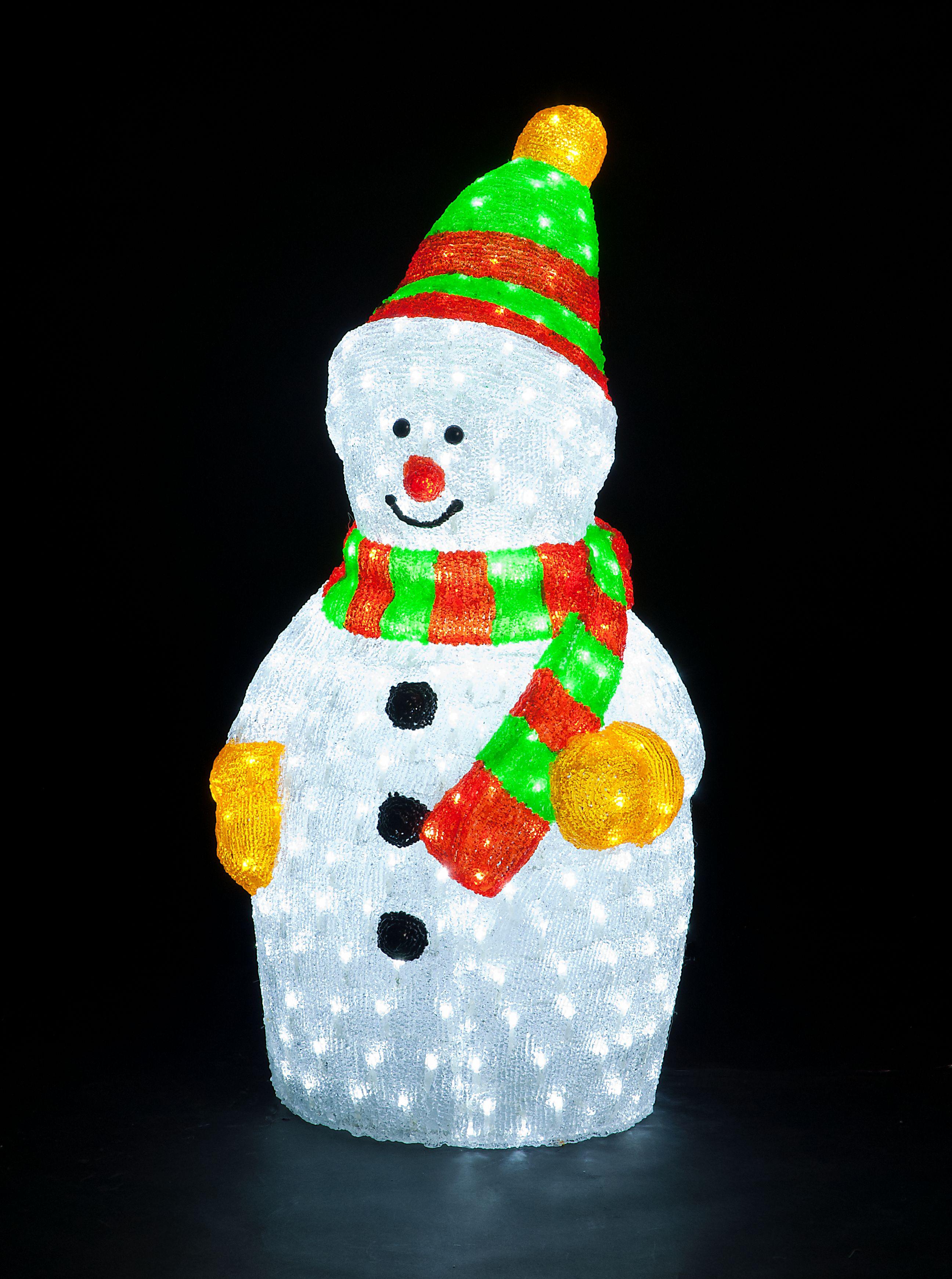 90cm acrylic standing snowman with 380 ice white leds 90cm acrylic standing snowman with 380 ice white leds ukchristmasworld barnsley christmas aloadofball Image collections