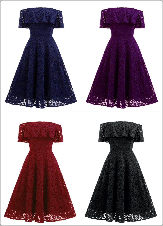 Off shoulder evening dresses knee length ball gown formal dresses