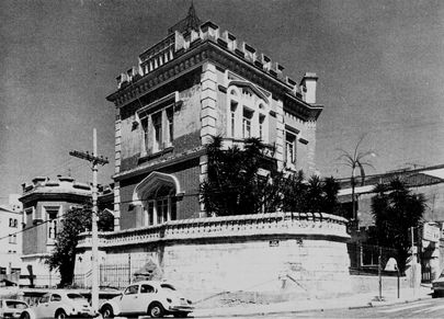 Palacete do Conde de Sarzedas. SP