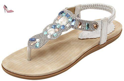 01e314fda2d72 CFP , a bride femme - - argenté, - Chaussures cfp (*Partner-Link ...