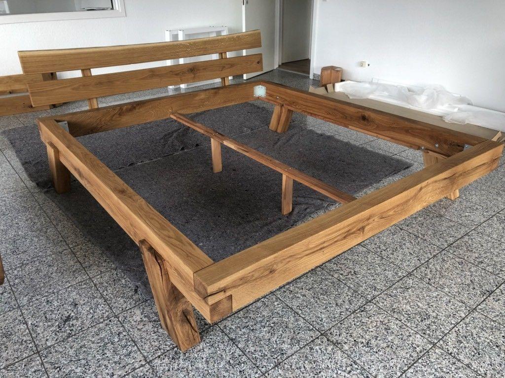 Massivholz Balkenbett In Wildeiche 180x200 Neu In Niedersachsen Seelze Ebay Kleinanzeigen Bett Rustikal Holz Selbstgemachte Bettrahmen Bettrahmen Ideen