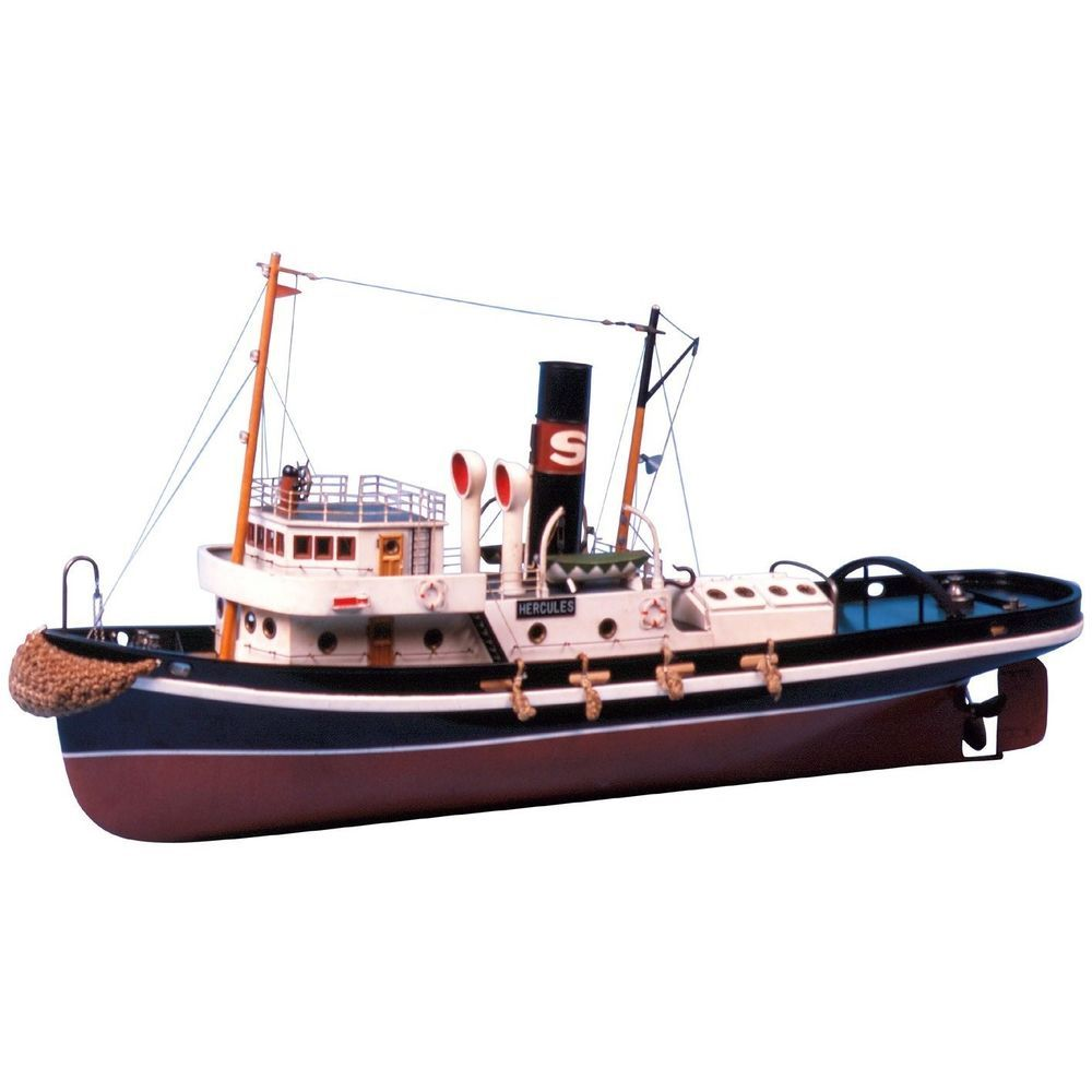 This is a beautiful tugboat model - made for live steam. Out of my price range, but maybe I'll ...