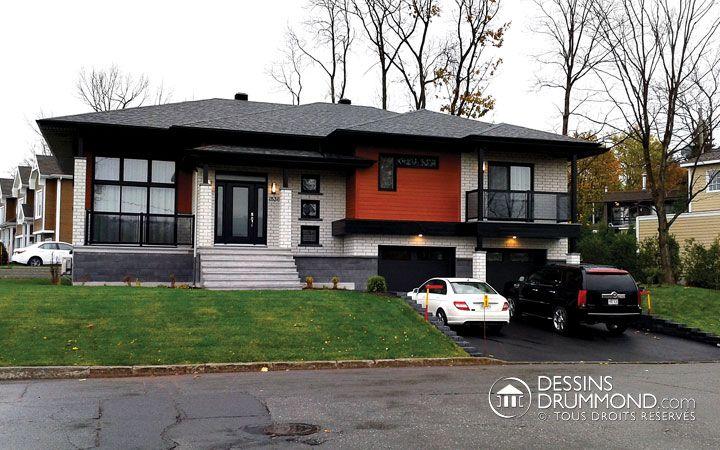 Belle maison contemporaine \ exclusive réalisée par lu0027Agence Dessins