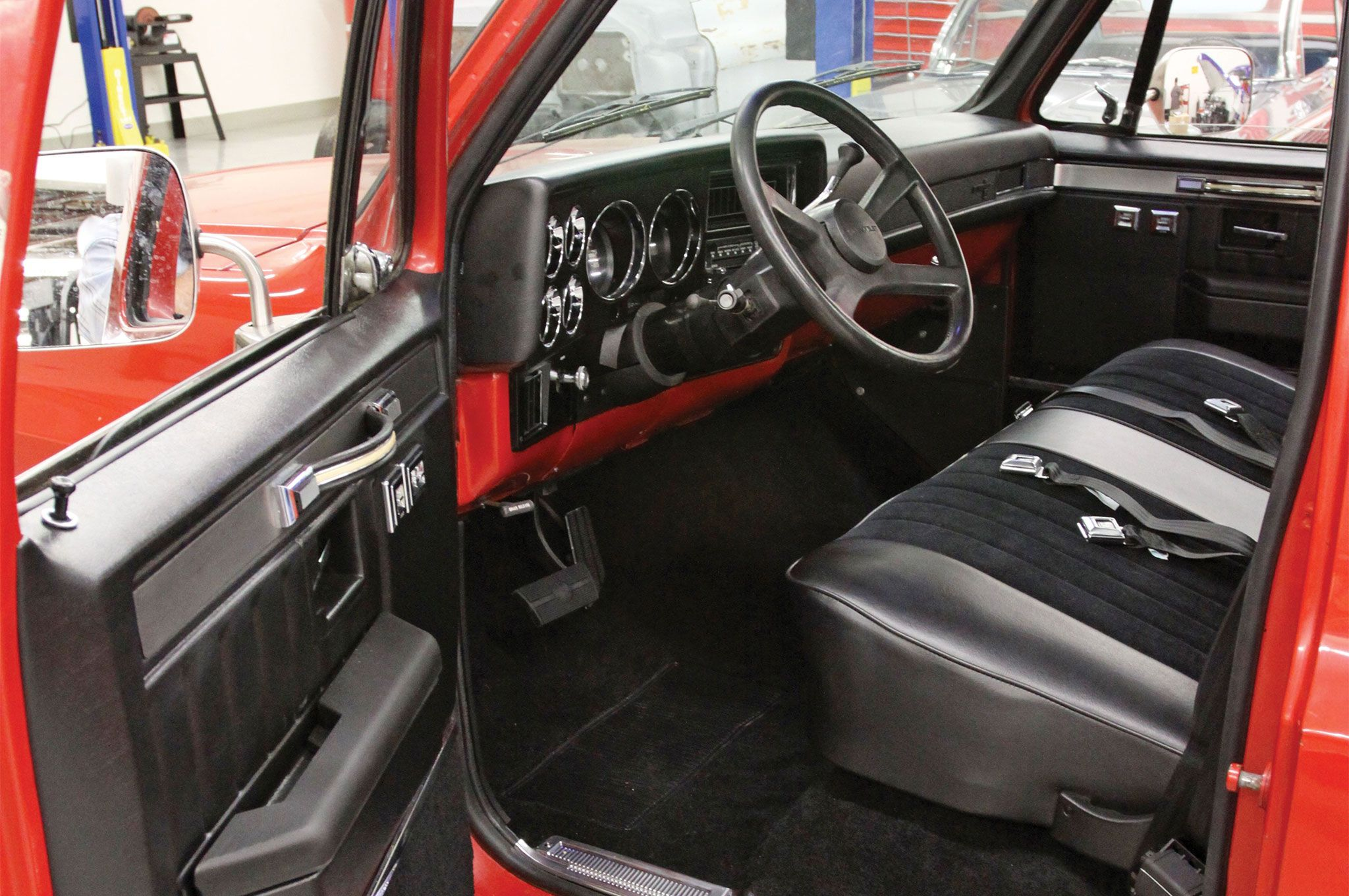 Revamping a 1985 c10 silverado interior with lmc truck hot rod network