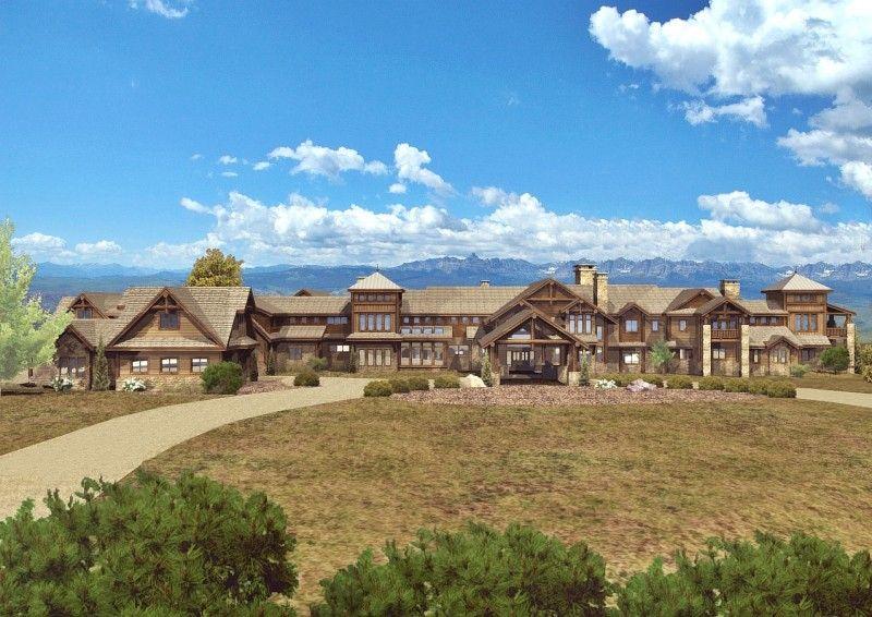 Grand Teton Estate - Log Homes, Cabins and Log Home Floor Plans - Wisconsin  Log