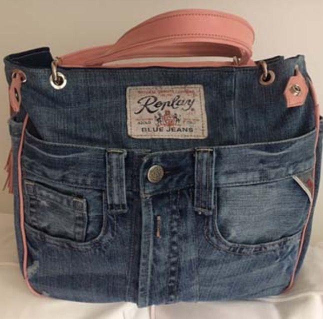 Replay Jeans, Leder rosa pabu wien pabu.at   Upcycling Denim ...