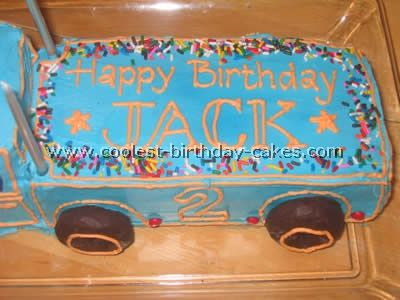 Coolest Semi Trailer Kids Cake Ideas Semi trailer Cake and Truck