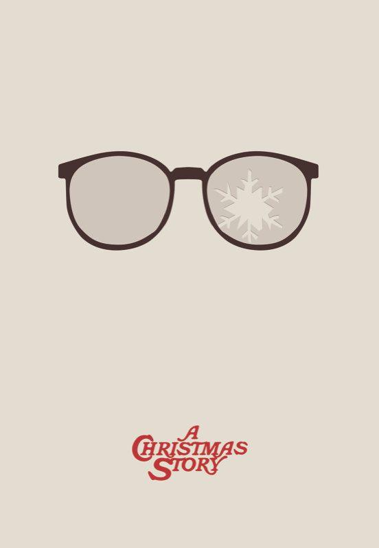 A Christmas Story 2019.A Christmas Story Minimalist Movie Poster 40 00 Via Etsy
