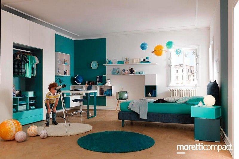 Cameretta New | Centro delle Camerette | Moretti Compact | Kids rugs ...
