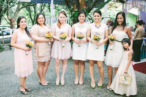 The Entourage Wore Stylish Cocktail Dresses In Blush And White For An Intimate Garden Wedding Www Bridalb Wedding Featured Wedding Wedding Planner Resources,Resale Wedding Dresses Houston