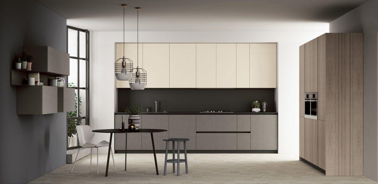 Contemporary kitchen steel melamine concrete fjord doimo cucine interior 04 - Cucine concreta ...