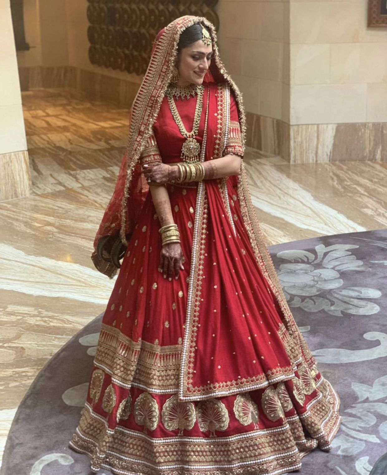 Sabyasachi Bride Bridal Lehenga Red Indian Bridal Outfits Indian Bridal Dress