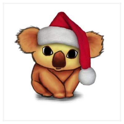 Christmas | Koala | Pinterest | Animal