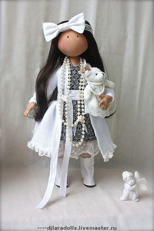 Текстильная кукла изготовление своими руками 450